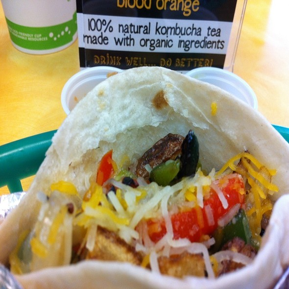 Grilled Veggie Taco @ The Green Spot