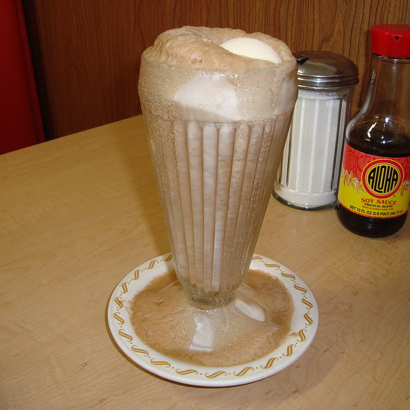 Diet Coke Float @ Jane's Fountain