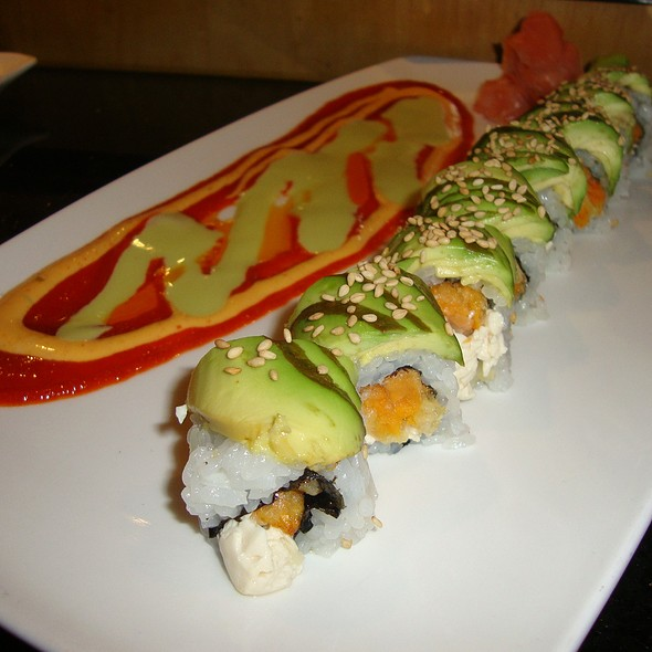 The Monk Roll @ Sage 400 Japanese Cuisine