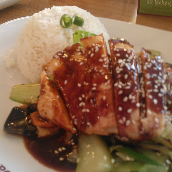 Teriyaki Chicken & Rice @ Coa - Cuisine Of Asia