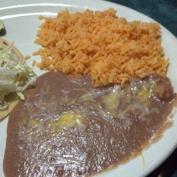 Rice & Beans @ Maria's Taco Shop