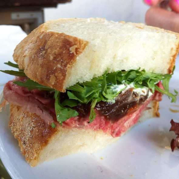Roast Beef Sanwich @ Fiore Market Cafe