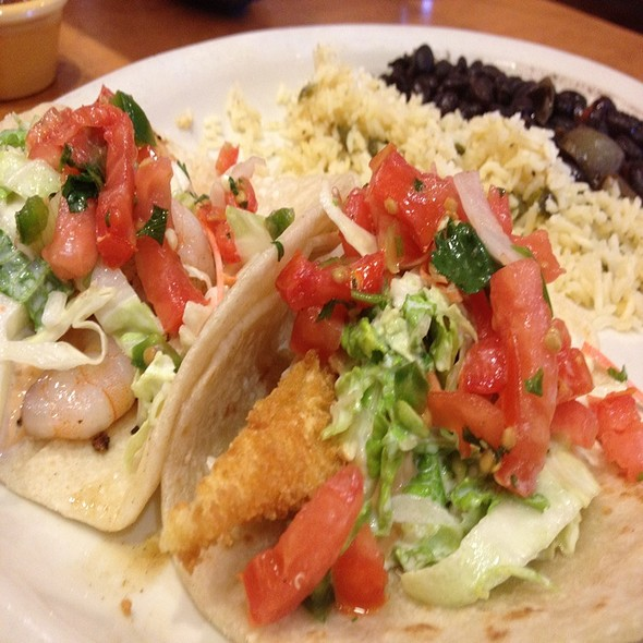 Fish Taco & Shrimp Taco @ Tin Star