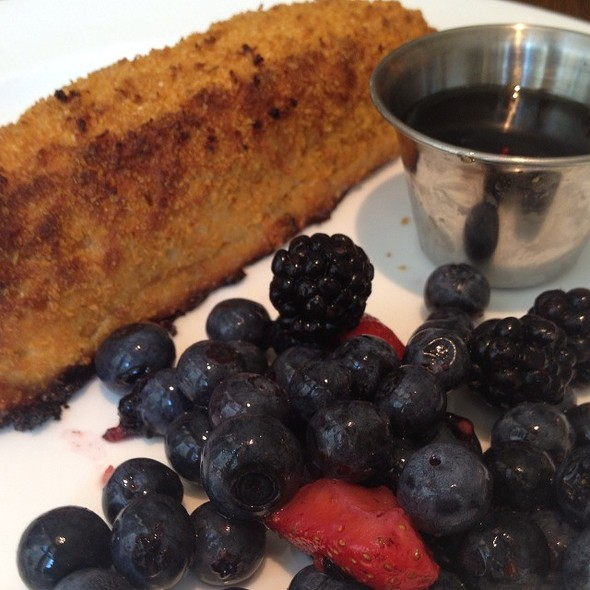 Corn Flake Crusted French Toast @ Central 214