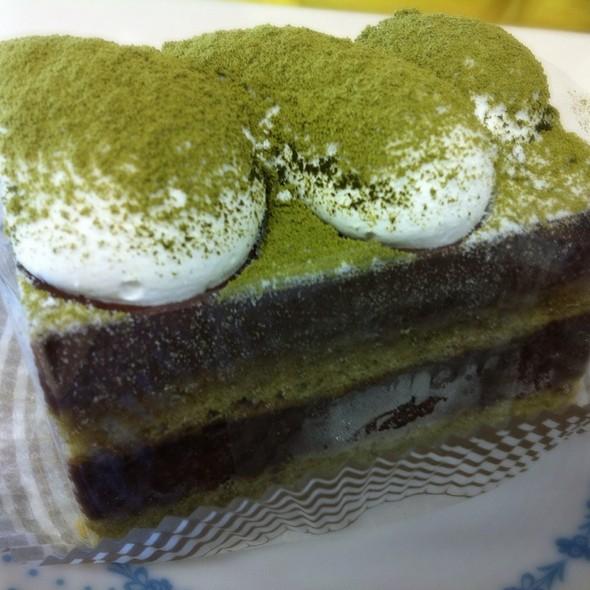 Green Tea Chocolate Cake @ Frances Bakery & Coffee