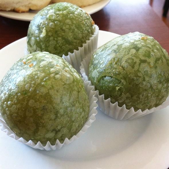 Green Tea Dumplings @ BK's Bistro
