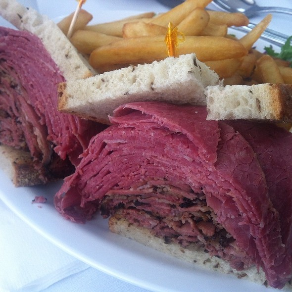 Corned Beef And Pastrami On Rye @ Sage Bagel & Appetizer Shop