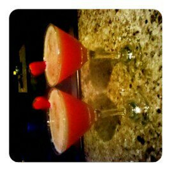 Strawberry Blonde Martini @ The Melting Pot