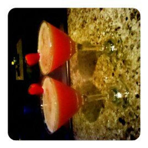 Strawberry Blonde Martini @ The Melting Pot
