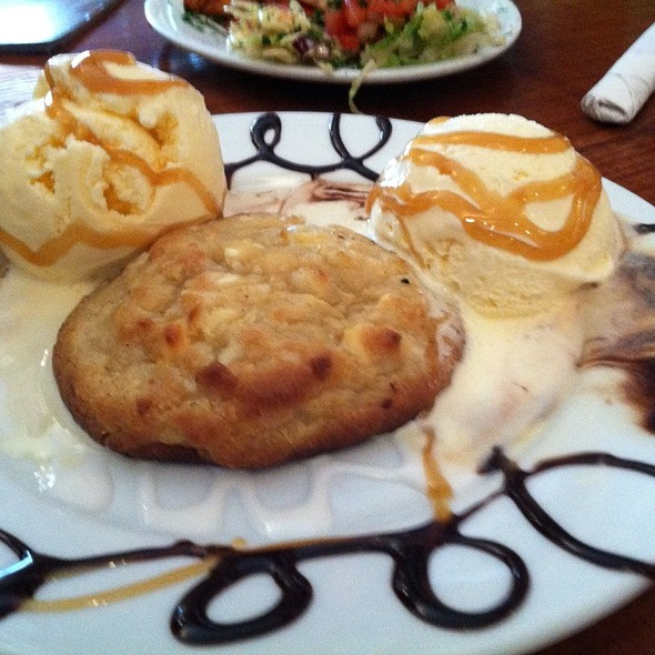 White Chocolate Macadamia Cookie A La Mode @ Lost & Found Saloon