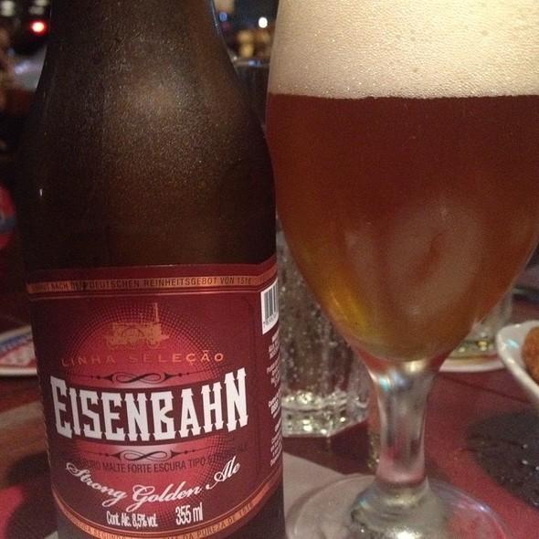 Eisenbahn Strong Golden Ale @ Restaurante Colher de Pau