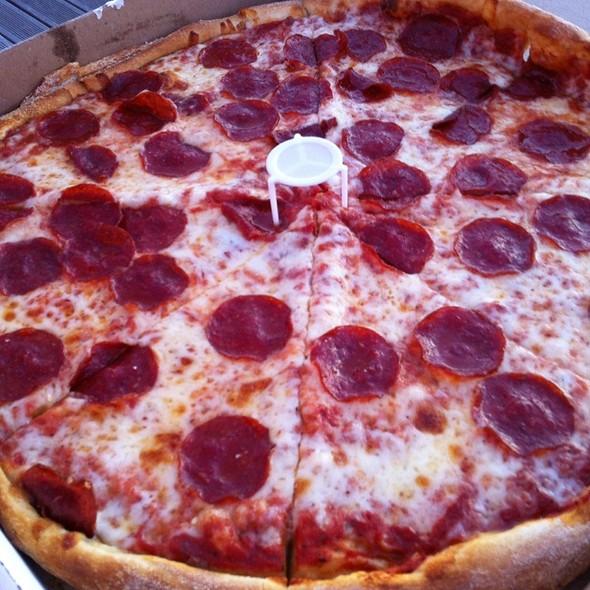 Pepperoni Pizza @ Luigi's Pizza