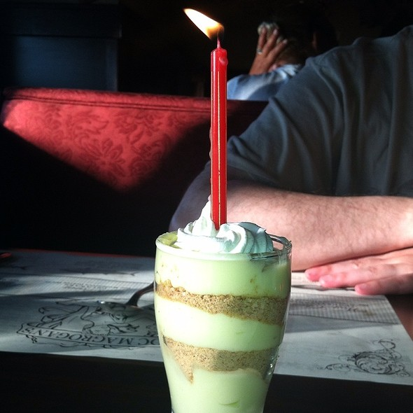 Key Lime Pie In A Glass - Doc Magrogan's Fish Market, Moosic, PA