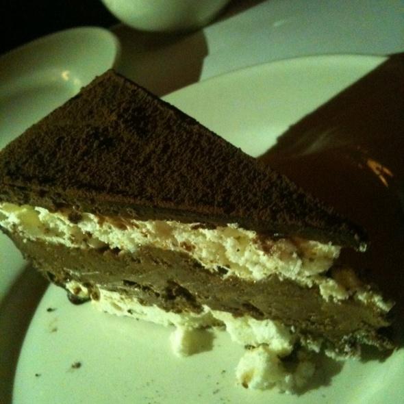 Hazelnut and Chocolate Dacquoise @ Minetta Tavern