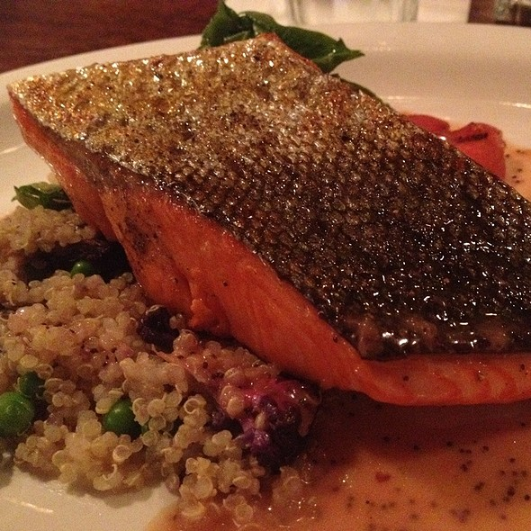 Copper River Salmon @ New World Bistro Bar