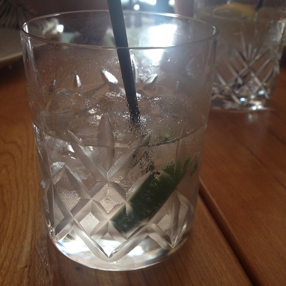 Vodka Soda @ Hopgoods Foodliner