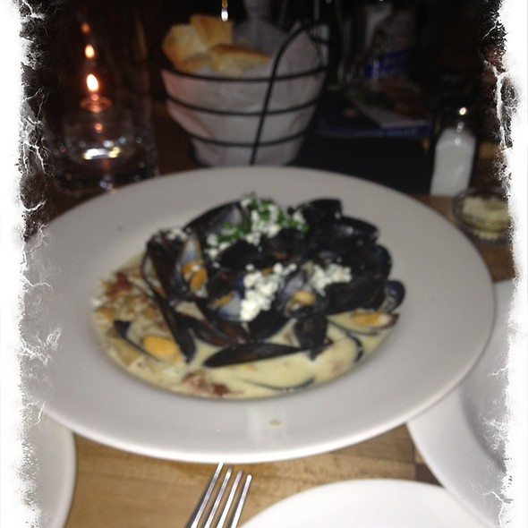 Blue Cheese Mussels - Anneke Jans, Kittery, ME