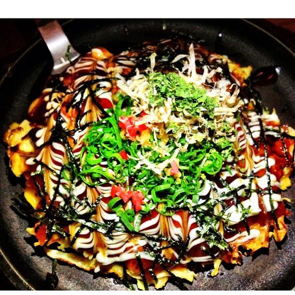 Country Mix Special Okonomiyaki @ Jugemu & Shimbashi