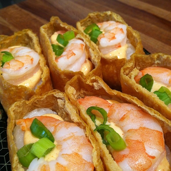 Spicy Shrimp Inari @ Cal-Mart Inc