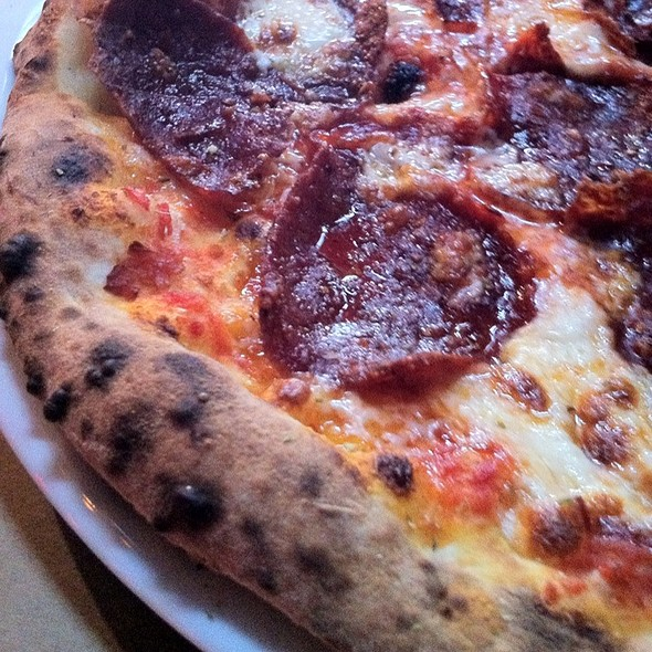 Pizza Spicy Salami  @ BEVO Bar + Pizzeria