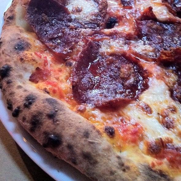 Pizza Spicy Salami  @ BEVO Bar + Pizzeria