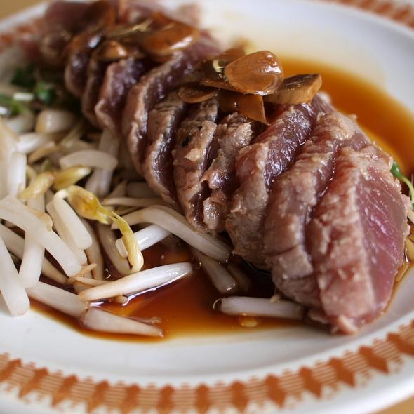 Tataki Sashimi @ Ethel's Grill