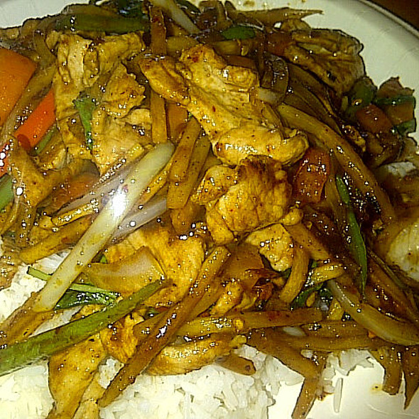 Pad Ped Pork @ Bahn Thai Restaurant