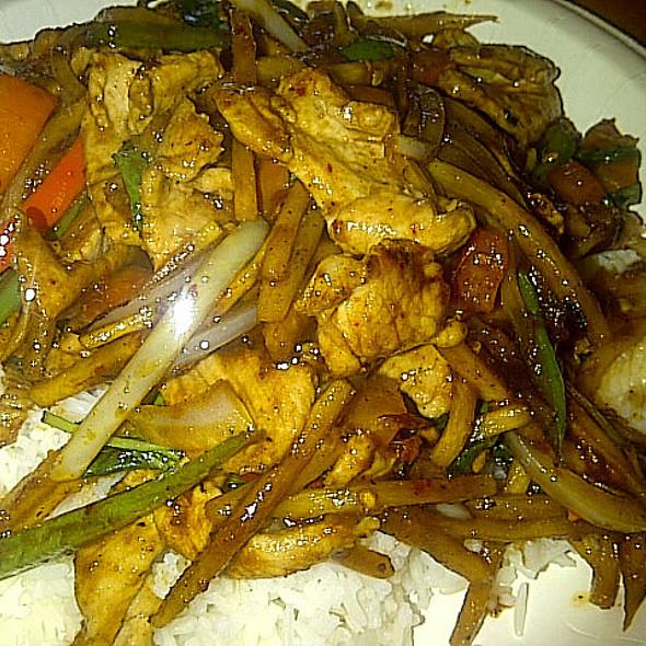 Pad Ped Pork @ Bahn Thai Restaurant