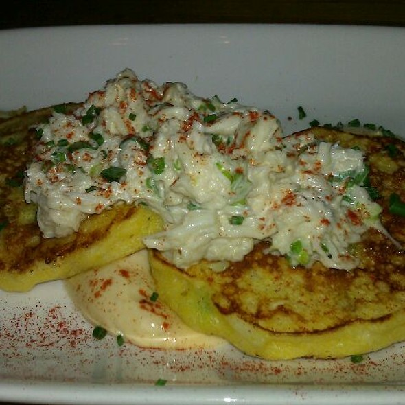Griddle Cakes With Dungeness Crab @ Starbelly