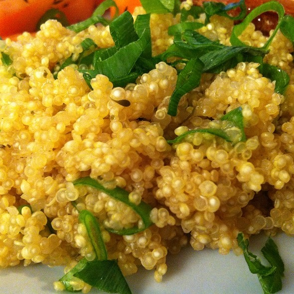 Lemon And Thyme Quinoa @ Chookys