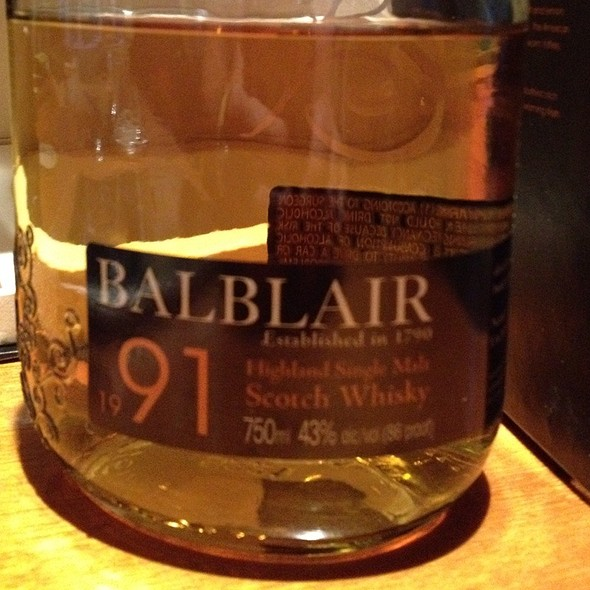 Balblair 1991 @ 6 Old Army Post Rd