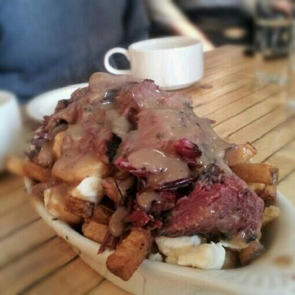Smoked Meat Poutine @ Mile End Delicatessen