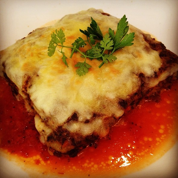 Beef Lasagne @ 金禾別苑歐法雅廚