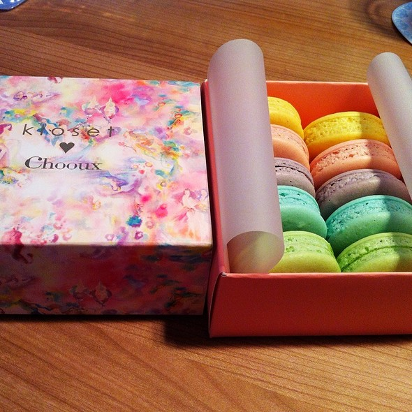 Kloset <3 Chooux Macarons @ Cafe & Etcetera By Kloset