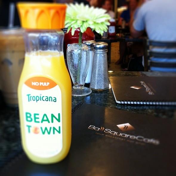 Ball Square Cafe Breakfast Menu
