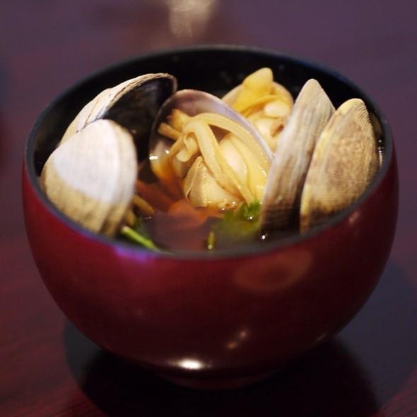 Asari Miso Soup - Mitsunobu, Menlo Park, CA