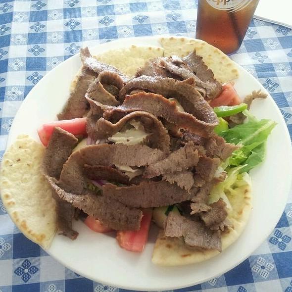 Gyro Salad @ Greek Village