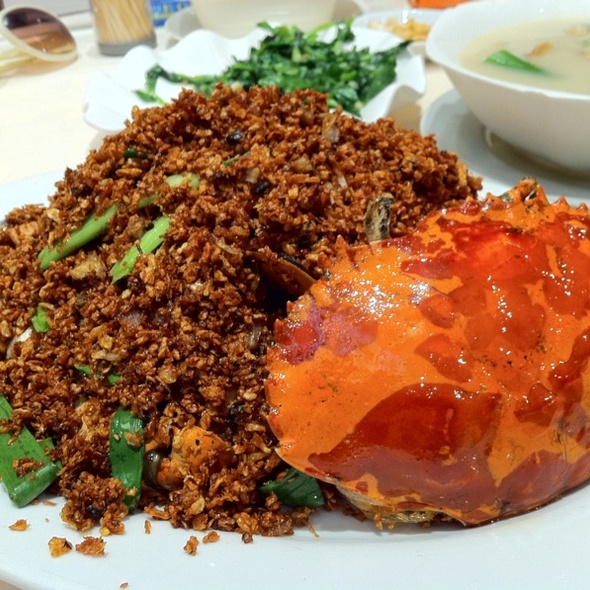 Typhoon Shelter Crab @ Yuet Wah Wui