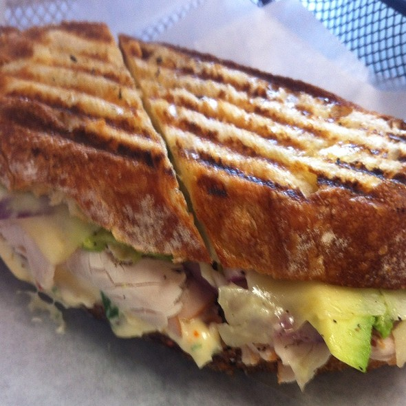 Roasted Turkey Breast Panini @ Circe's Grotto