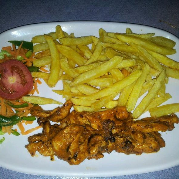 Flame Grilled Chicken & French Fries @ Flame Flavours Sarit Centre