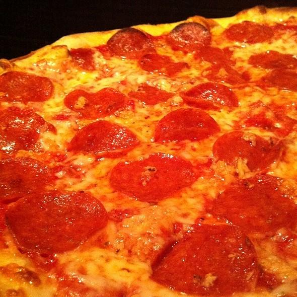 Pepperoni Pizza @ Home Slice Pizza
