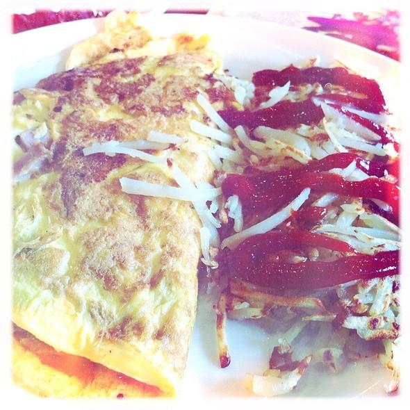 Ham & Cheese Omelette @ Elios Family Restaurant