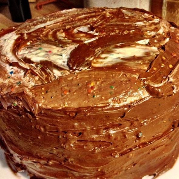 Funfetti Neapolitan Birthday Cake @ Home