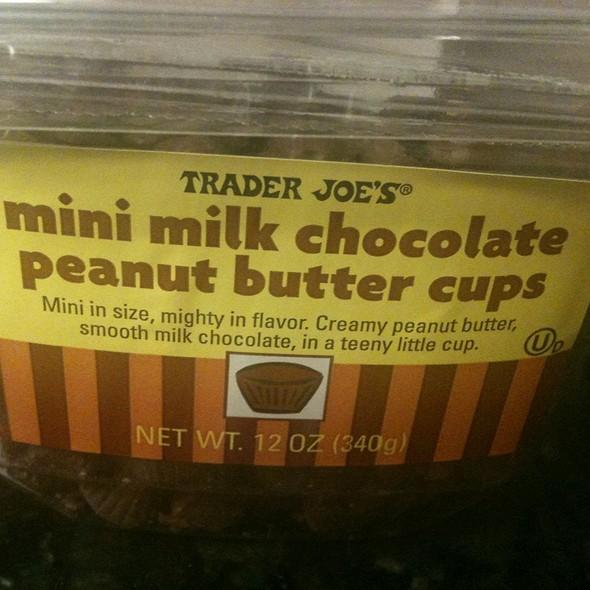 Mini Milk Chocolate Peanut Butter Cups @ Trader Joe's