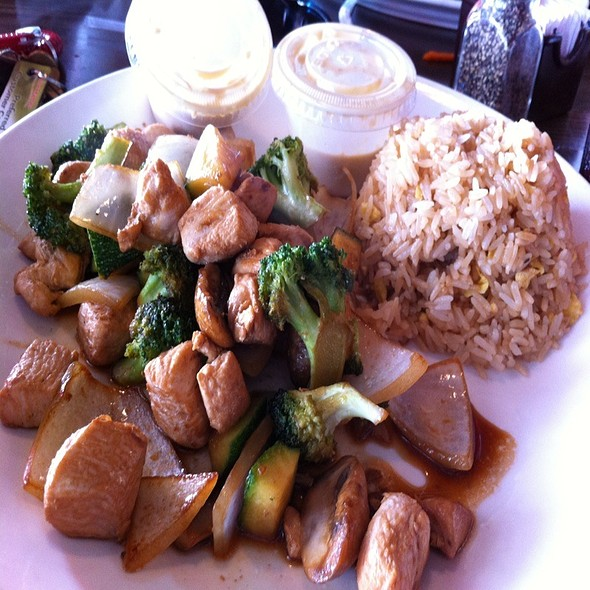 Habachi Chicken & Fried Rice