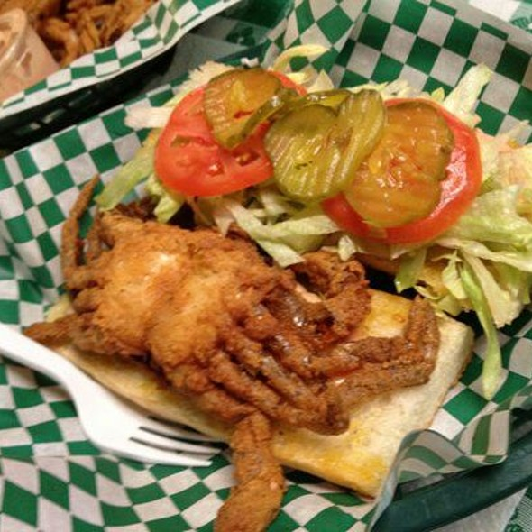 Soft Shell Crab Po'boy @ Can't Remember Where We Ate This!