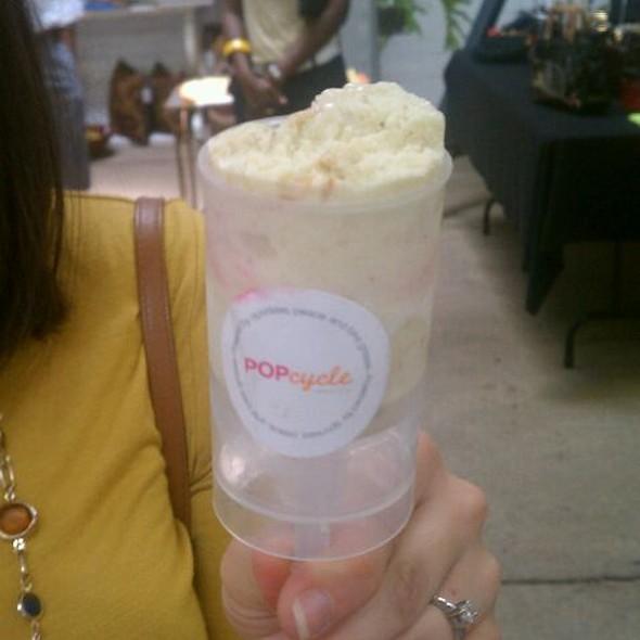 Coconut Curry Ice Cream @ Popcycle Creamery