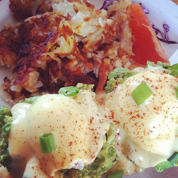 eggs californian. @ Glo's