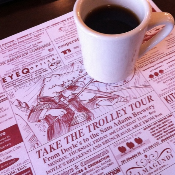 Diner Coffee @ Doyle's Cafe