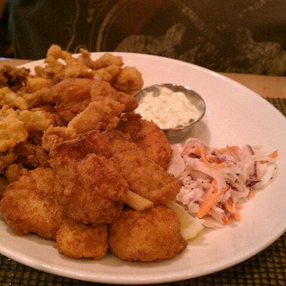 Fried Seafood Platter @ Legal Test Kitchen